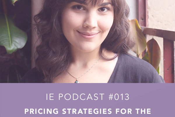 Pricing Strategies for the Intuitive Entrepreneur with Sarah Corbett